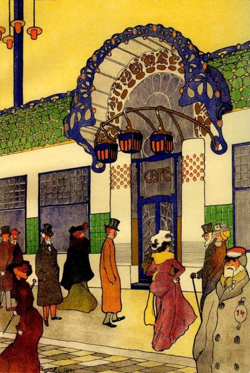 6 | Архитектура Вены начала XX века | ARTeveryday.org