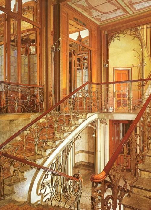 4 | Виктор Орта - Victor Horta. Архитектура модерна | ARTeveryday.org