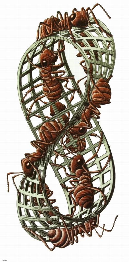 12 | Мауриц Корнелис Эшер - Maurits Cornelis Escher. Нидерландский художник-график | ARTeveryday.org