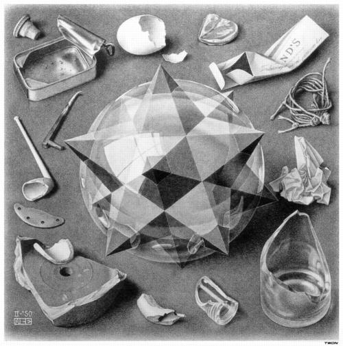 13 | Мауриц Корнелис Эшер - Maurits Cornelis Escher. Нидерландский художник-график | ARTeveryday.org