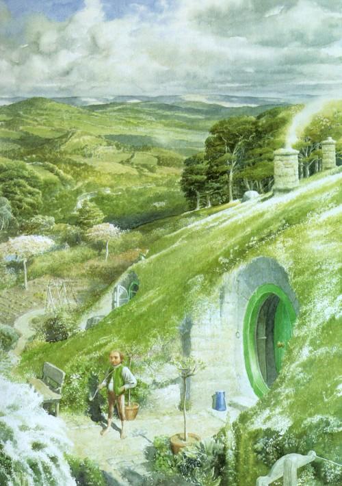 2 | Алан Ли - Alan Lee. Иллюстратор Дж.Р.Р.Толкина | ARTeveryday.org