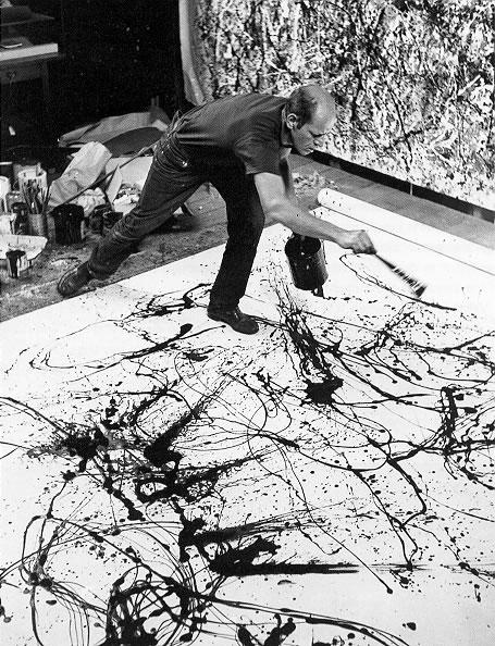 2 | Джексон Поллок - Jackson Pollock. Экспрессионизм | ARTeveryday.org
