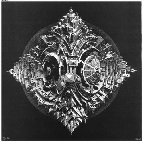 14 | Мауриц Корнелис Эшер - Maurits Cornelis Escher. Нидерландский художник-график | ARTeveryday.org