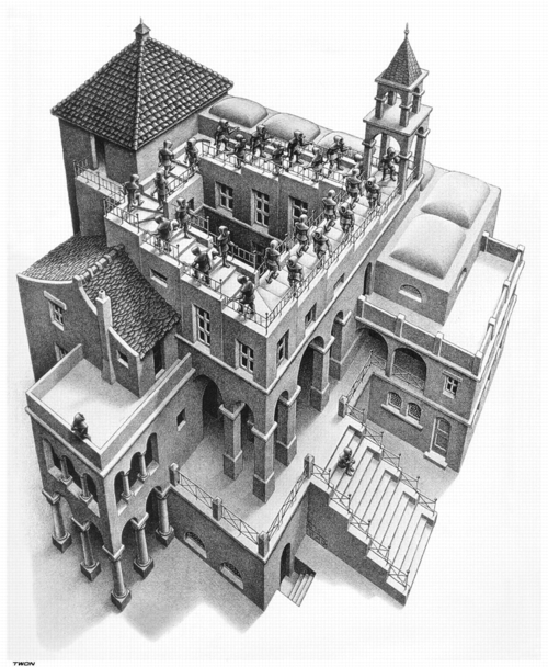 2 | Мауриц Корнелис Эшер - Maurits Cornelis Escher. Нидерландский художник-график | ARTeveryday.org