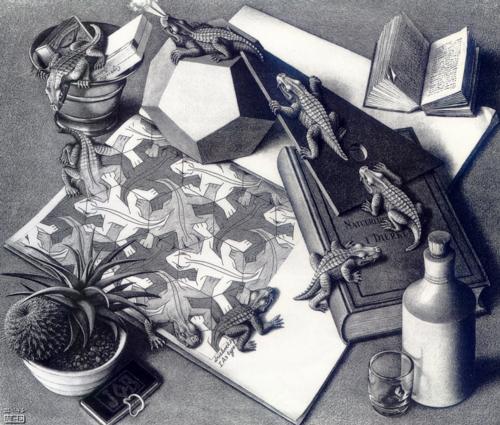 18 | Мауриц Корнелис Эшер - Maurits Cornelis Escher. Нидерландский художник-график | ARTeveryday.org