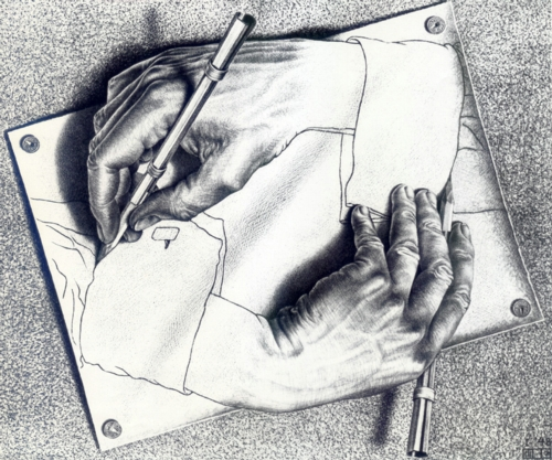 19 | Мауриц Корнелис Эшер - Maurits Cornelis Escher. Нидерландский художник-график | ARTeveryday.org