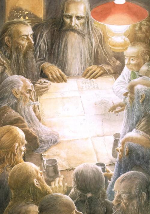 3 | Алан Ли - Alan Lee. Иллюстратор Дж.Р.Р.Толкина | ARTeveryday.org