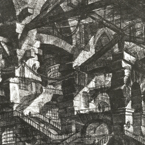 3 | Giovanni Battista Piranesi - Джованни Баттиста Пиранези. Архитектурная графика | ARTeveryday.org