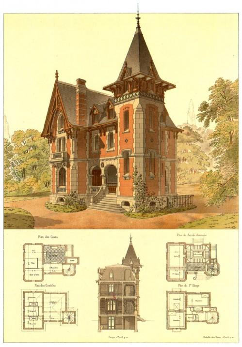 3 | Pierre Chabat. Викторианская архитектура