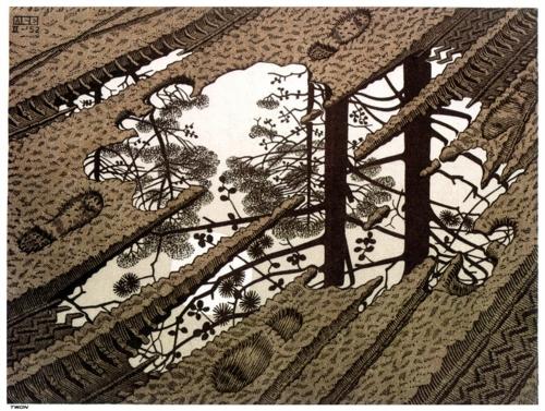 3 | Мауриц Корнелис Эшер - Maurits Cornelis Escher. Нидерландский художник-график | ARTeveryday.org
