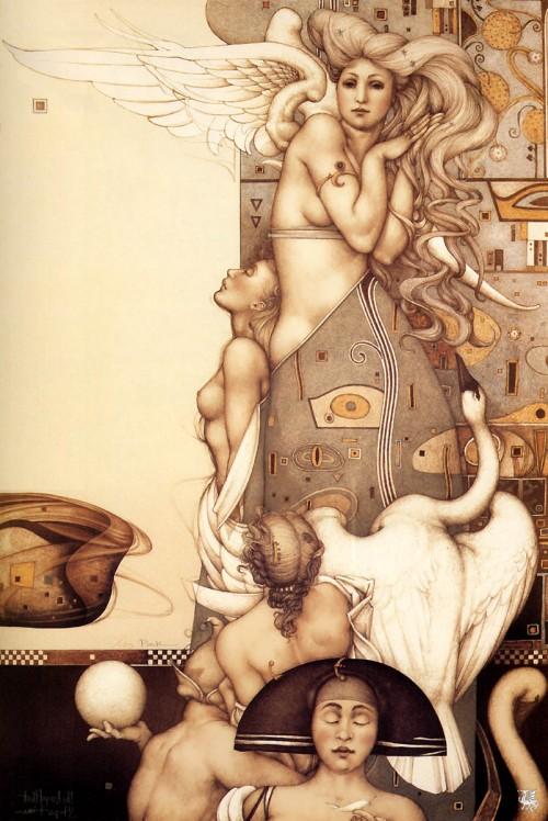 3 | Майкл Паркес - Michael Parkes. Магический реализм | ARTeveryday.org