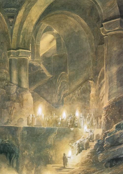 4 | Алан Ли - Alan Lee. Иллюстратор Дж.Р.Р.Толкина | ARTeveryday.org