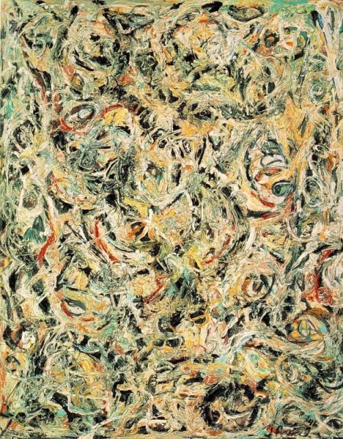 4 | Джексон Поллок - Jackson Pollock. Экспрессионизм | ARTeveryday.org