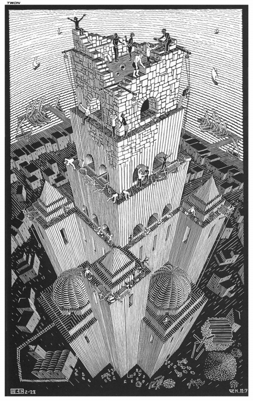 4 | Мауриц Корнелис Эшер - Maurits Cornelis Escher. Нидерландский художник-график | ARTeveryday.org