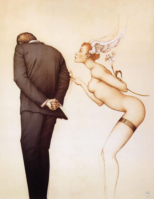 4 | Майкл Паркес - Michael Parkes. Магический реализм | ARTeveryday.org