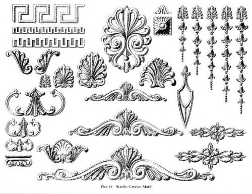 5 | Ornamental Borders - Орнаменты Барроко | ARTeveryday.org