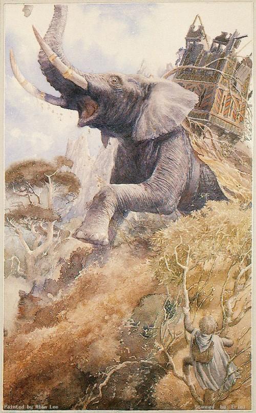 5 | Алан Ли - Alan Lee. Иллюстратор Дж.Р.Р.Толкина | ARTeveryday.org