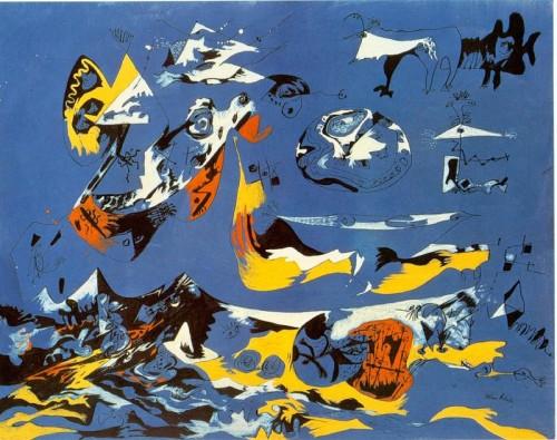 5 | Джексон Поллок - Jackson Pollock. Экспрессионизм | ARTeveryday.org