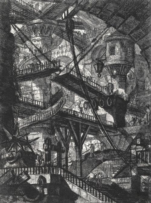 5 | Giovanni Battista Piranesi - Джованни Баттиста Пиранези. Архитектурная графика | ARTeveryday.org