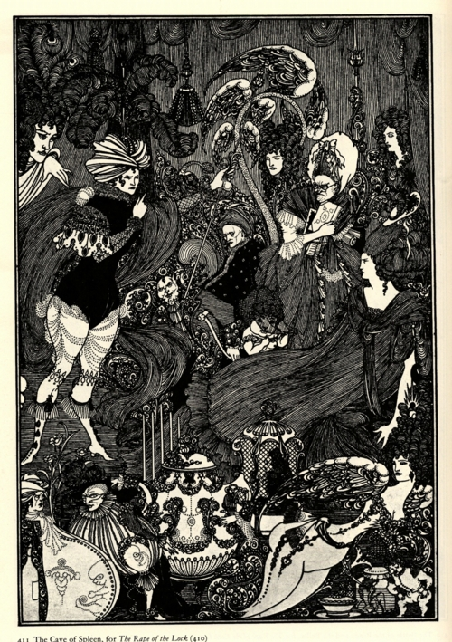 6 | Бердслей Обри Винсент - Aubrey Vincent Beardsley | ARTeveryday.org