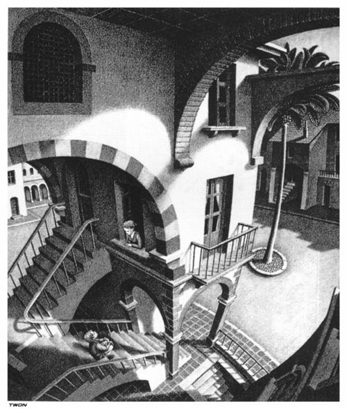 5 | Мауриц Корнелис Эшер - Maurits Cornelis Escher. Нидерландский художник-график | ARTeveryday.org