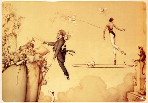 5 | Майкл Паркес - Michael Parkes. Магический реализм | ARTeveryday.org