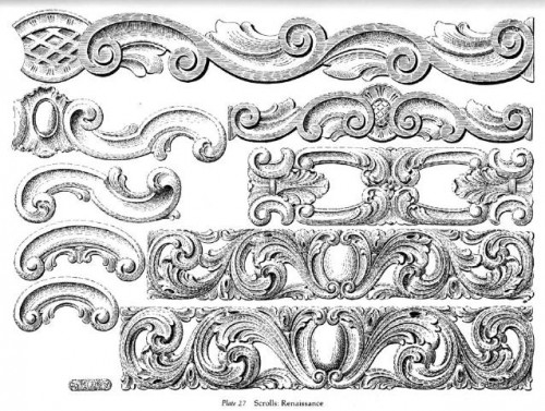 6 | Ornamental Borders - Орнаменты Барроко | ARTeveryday.org