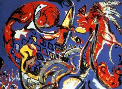 6 | Джексон Поллок - Jackson Pollock. Экспрессионизм | ARTeveryday.org