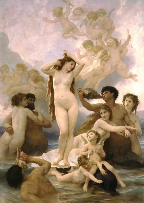 7 | Вильям Адольф Бугеро - William Adolphe Bouguereau. Салонная живопись | ARTeveryday.org