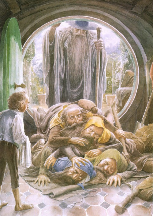 6 | Алан Ли - Alan Lee. Иллюстратор Дж.Р.Р.Толкина | ARTeveryday.org