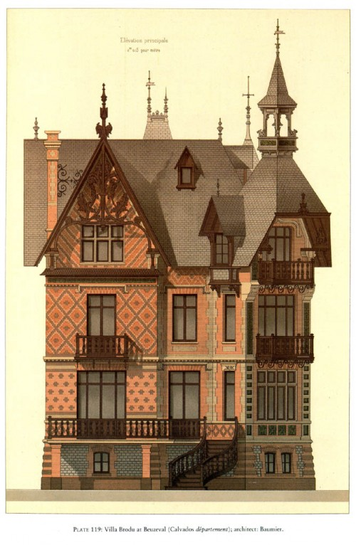 6 | Pierre Chabat. Викторианская архитектура