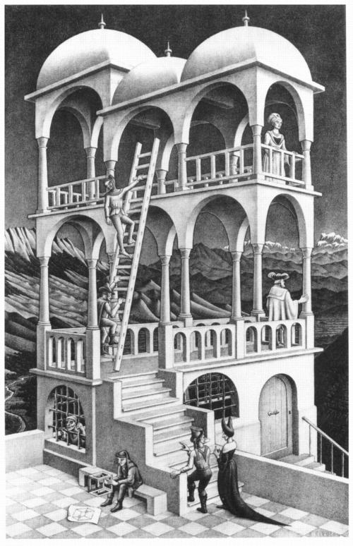 6 | Мауриц Корнелис Эшер - Maurits Cornelis Escher. Нидерландский художник-график | ARTeveryday.org