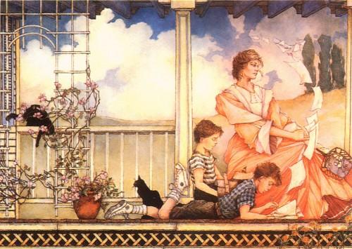 6 | Томас Канти - Thomas Canty. Новая романтика | ARTeveryday.org