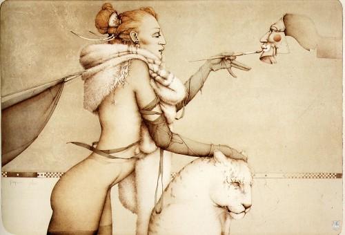 6 | Майкл Паркес - Michael Parkes. Магический реализм | ARTeveryday.org