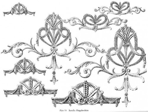 7 | Ornamental Borders - Орнаменты Барроко | ARTeveryday.org