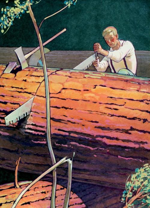 7 | Американские плакаты начала ХХ века. Часть2 | ARTeveryday.org