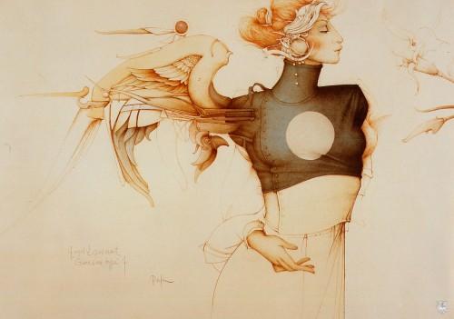 7 | Майкл Паркес - Michael Parkes. Магический реализм | ARTeveryday.org