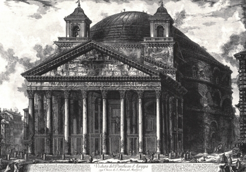7 | Giovanni Battista Piranesi - Джованни Баттиста Пиранези. Архитектурная графика | ARTeveryday.org