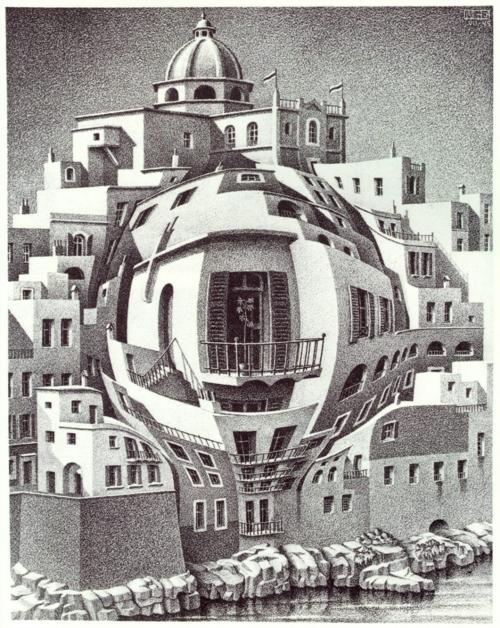 7 | Мауриц Корнелис Эшер - Maurits Cornelis Escher. Нидерландский художник-график | ARTeveryday.org