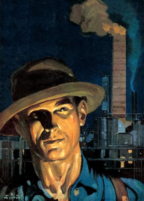 7 | Американские плакаты начала ХХ века. Часть1 | ARTeveryday.org