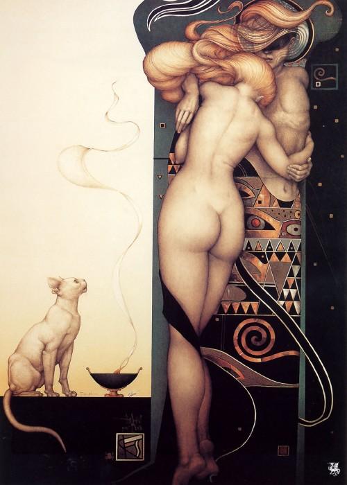 8 | Майкл Паркес - Michael Parkes. Магический реализм | ARTeveryday.org