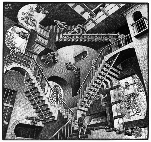 8 | Мауриц Корнелис Эшер - Maurits Cornelis Escher. Нидерландский художник-график | ARTeveryday.org