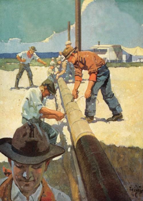 9 | Американские плакаты начала ХХ века. Часть2 | ARTeveryday.org