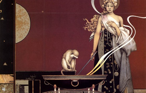 9 | Майкл Паркес - Michael Parkes. Магический реализм | ARTeveryday.org