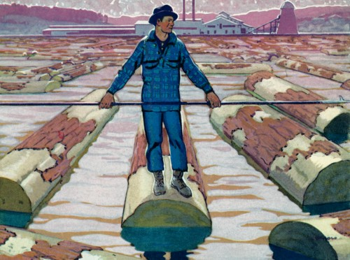 8 | Американские плакаты начала ХХ века. Часть1 | ARTeveryday.org