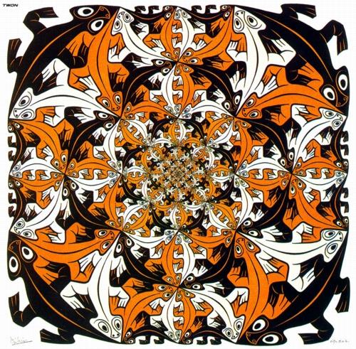 10 | Мауриц Корнелис Эшер - Maurits Cornelis Escher. Нидерландский художник-график | ARTeveryday.org