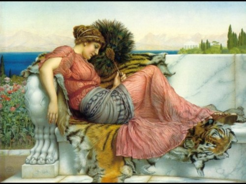 4 | Джон Уильям Годвард - John William Godward. Прерафаэлитизм | ARTeveryday.org