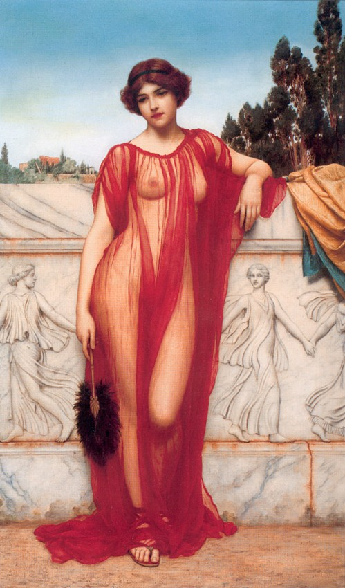 2 | Джон Уильям Годвард - John William Godward. Прерафаэлитизм | ARTeveryday.org