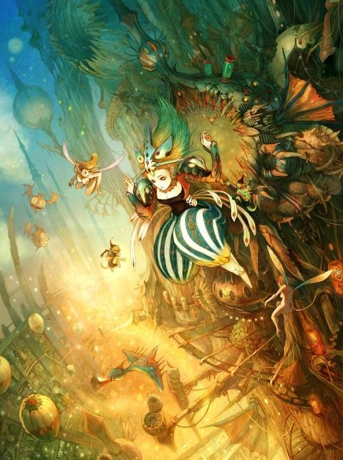 1 | Tahra. Фантастические иллюстрации | ARTeveryday.org
