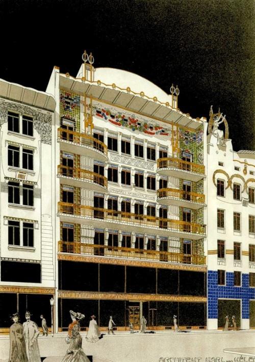 2 | Архитектура Вены начала XX века | ARTeveryday.org